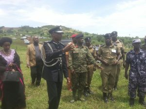 IGP Kale Kayihura Arrives in Lwengo