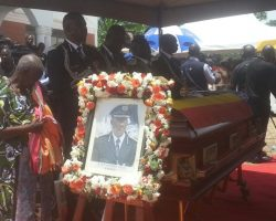 Pictures from the Final send Off of fallen AIGP Kaweesi