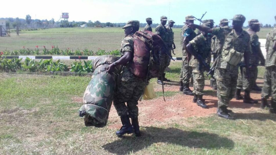 Last Batch Of Updf Troops Returns From Central Africa Kfm