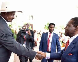 Visiting Guinea president Obiang Nguema wants policies to compel African governments to buy locally made products