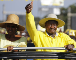 """Museveni & The 1st Lady – """"Orphanage still a reality,""""Ugandans should stop waiting on government to help the needy"""""""
