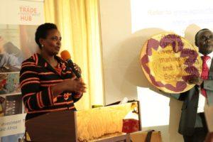 Presidential advisor on AGOA Suzan Muhwezi