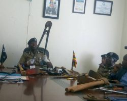 Police arrests 113 suspects for allegedly terrorizing people in Kampala.