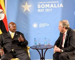 372.6 M raised from the Uganda solidarity summit on refugees.
