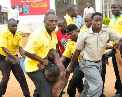 KCCA enforcers back on the street backed up by the police