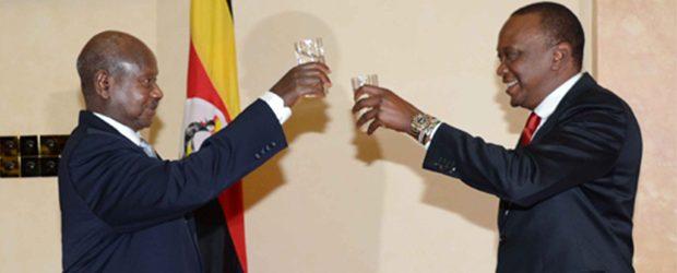 Museveni congratulates Kenyatta
