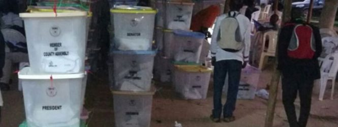 Presiding officer, police officer arrested with ballot papers