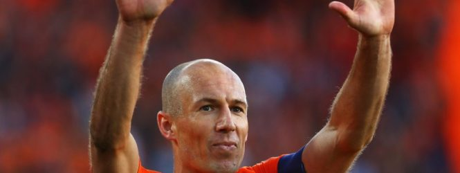 Arjen Robben retires from international football