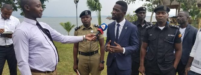 Bobi Wine posters pulled down
