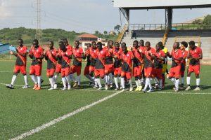 Uganda's Under 15 leaves for Eritrea